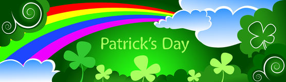 Patrick's Day background Stock Image