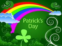 Patrick's Day background Stock Images