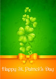 Patrick�s day card Stock Images
