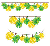Patrick's day decor elements Stock Image