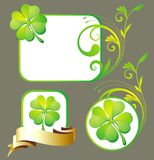 Patrick's Day design elements Stock Image