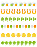 Patrick s Day Dividers Set [2] Stock Photo