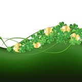 Patrick's Day framePatrick's Day card Royalty Free Stock Image