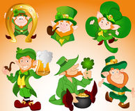 Patrick's Day Illustrations. Abstract Creative Decor Art of Patrick's Day Illustrations Stock Images