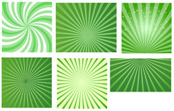 Patrick's Day Sunbursts Royalty Free Stock Photos
