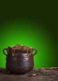 Patrick's pot stock image