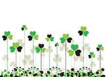 Patrick saint day background Royalty Free Stock Images