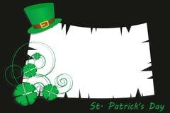 Patrick shamrocks Stock Images