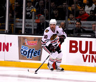Patrick Sharp Chicago Blackhawks. Lizenzfreies Stockbild