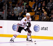 Patrick Sharp Chicago Blackhawks Lizenzfreie Stockfotografie