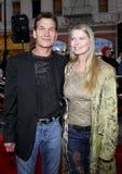Patrick Swayze and Lisa Niemi Stock Photos