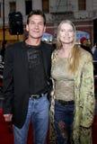 Patrick Swayze and Lisa Niemi Royalty Free Stock Image