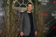 Patrick Warburton. NEW YORK-JAN 11: Actor Patrick Warburton attends the world premiere screening of NETFLIX`s Lemony Snicket`s `A Series of Unfortunate Events` Stock Images