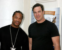 Patrick Warburton, Xzibit Images libres de droits