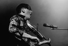 Patrick Wolf performs at Apolo Stock Image