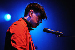 Patrick Wolf (singer) performs at Apolo Stock Photography