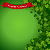 Patricks day background Royalty Free Stock Image