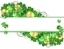 Patricks Day card Royalty Free Stock Images