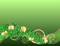 Patricks Day card Stock Images