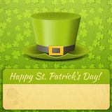 Patricks Day Card Royalty Free Stock Photography