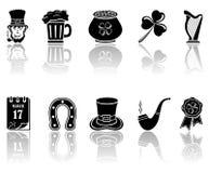 Patricks Day icons Stock Image