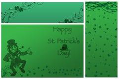 Patricks Tageshintergrund Stockfoto