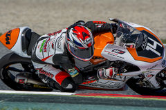 Patrik Pulkkinen. AJO Motorsport Team. FIM CEV Repsol International Championship. Barcelona, Spain - June 20, 2015 Stock Images