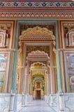Patrika Gate, jardines del círculo de Jawahar imagen de archivo