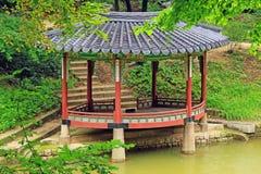 Patrimônio mundial do UNESCO de Coreia - palácio de Seoul Changdeokgung Fotografia de Stock Royalty Free