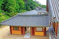 Patrimônio mundial do UNESCO de Coreia - templo de Bulguksa Fotos de Stock