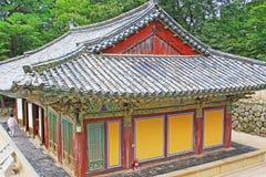 Patrimônio mundial do UNESCO de Coreia - templo de Bulguksa Fotografia de Stock Royalty Free