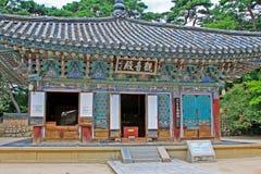 Patrimônio mundial do UNESCO de Coreia - templo de Bulguksa Imagem de Stock