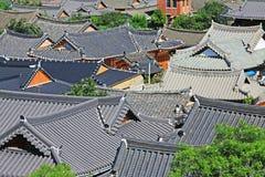 Patrimônio mundial do UNESCO de Coreia - templo de Bulguksa Foto de Stock