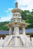Patrimônio mundial do UNESCO de Coreia - templo de Bulguksa Fotografia de Stock