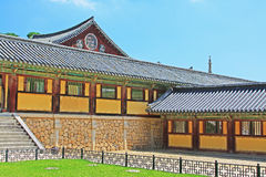 Patrimônio mundial do UNESCO de Coreia - templo de Bulguksa Foto de Stock Royalty Free