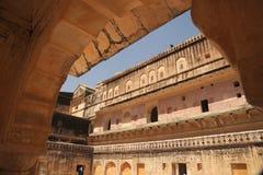 Patrimoine architectural Jaipur, Inde de palais d'Amer Photo stock