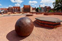 Patrimoine mondial de l'UNESCO de Wismar Images stock
