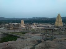 Patrimoine mondial de l'UNESCO Hampi photo stock