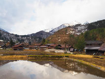 Patrimoine mondial Shirakawago Photo libre de droits