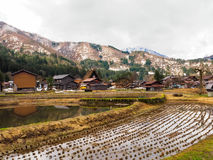 Patrimoine mondial Shirakawago Photo stock
