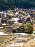 Patrimoine mondial Shirakawago Photos stock