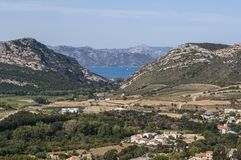 Patrimonio, Haute-Corse, Κορσική, ανώτερη Κορσική, Γαλλία, Ευρώπη, νησί Στοκ φωτογραφίες με δικαίωμα ελεύθερης χρήσης