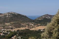 Patrimonio, Haute-Corse, Κορσική, ανώτερη Κορσική, Γαλλία, Ευρώπη, νησί Στοκ Εικόνα