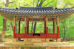 Patrimonio mondiale dell'Unesco della Corea - palazzo di Seoul Changdeokgung immagini stock