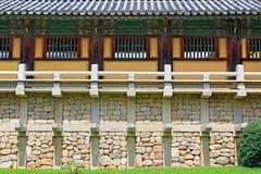 Patrimonio mondiale dell'Unesco della Corea - tempio di Bulguksa Immagini Stock