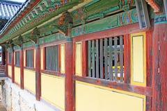 Patrimonio mondiale dell'Unesco della Corea - tempio di Bulguksa Immagine Stock