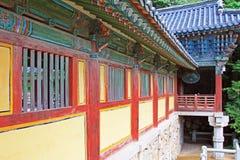 Patrimonio mondiale dell'Unesco della Corea - tempio di Bulguksa Fotografia Stock Libera da Diritti