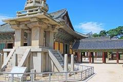 Patrimonio mondiale dell'Unesco della Corea - tempio di Bulguksa Fotografie Stock Libere da Diritti