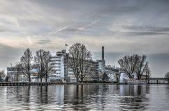 Patrimonio mondiale dell'Unesco della fabbrica di Van Nelle fotografia stock libera da diritti