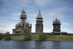 Patrimonio mondiale dell'Unesco di recupero di Kizhi Pogost immagini stock